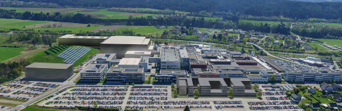 Visualization shows Infineon's new power semiconductor fab in Villach, Austria. Source: Infineon