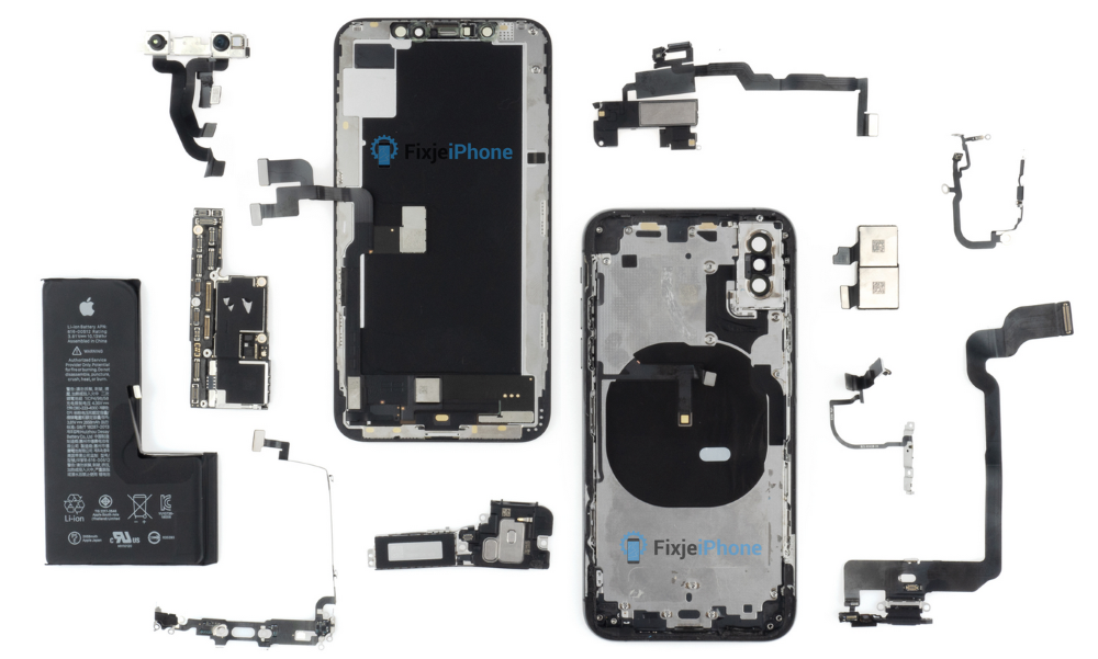 iPhone XS exploded view
