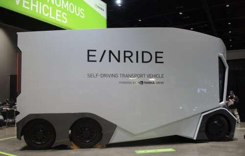 NVIDIA powered Einride autonomous truck