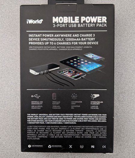 mobile power pack box