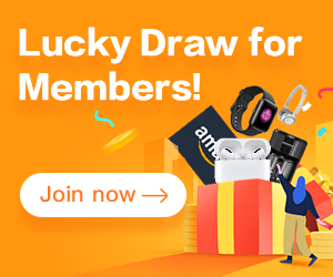 Prize draw for 2021 members